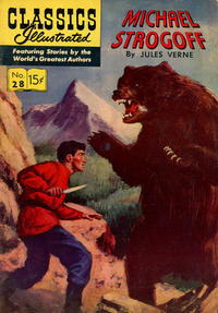 Cover Thumbnail for Classics Illustrated (Gilberton, 1947 series) #28 [HRN 115] - Michael Strogoff