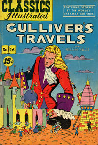 Cover Thumbnail for Classics Illustrated (Gilberton, 1947 series) #16 [HRN 89] - Gulliver's Travels