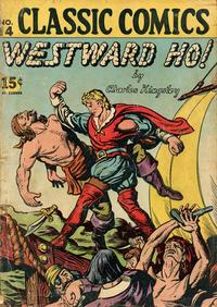 Cover Thumbnail for Classic Comics (Gilberton, 1941 series) #14 [HRN 21] - Westward Ho!