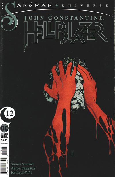 Cover for John Constantine Hellblazer (DC, 2020 series) #12