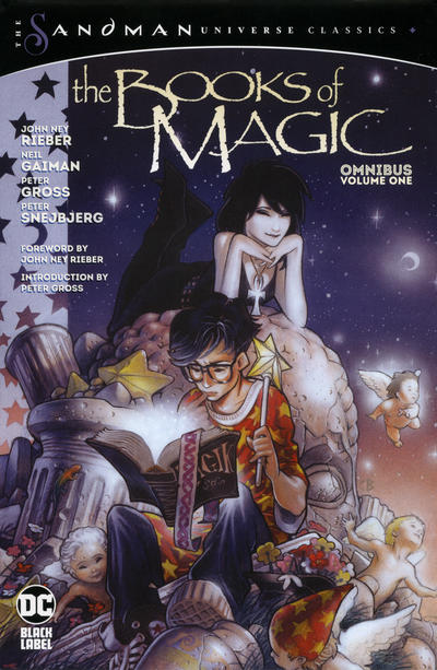 Cover for The Books of Magic Omnibus (DC, 2020 series) #1
