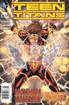 Cover Thumbnail for Teen Titans (2011 series) #25 [Newsstand]
