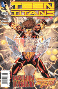 Cover Thumbnail for Teen Titans (DC, 2011 series) #25 [Newsstand]