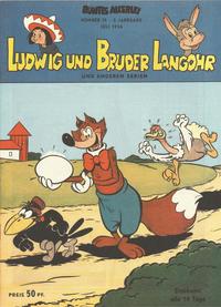 Cover Thumbnail for Buntes Allerlei (Norbert Hethke Verlag, 1992 series) #15/1954