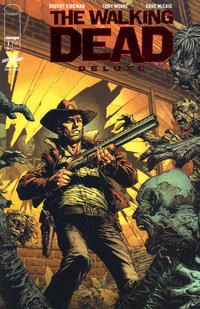 Cover Thumbnail for The Walking Dead Deluxe (Image, 2020 series) #1 [David Finch Red Foil Cover]