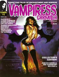 Cover Thumbnail for Vampiress Carmilla (Warrant Publishing, 2021 series) #1