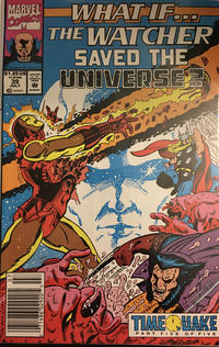 Cover Thumbnail for What If...? (Marvel, 1989 series) #39 [Newsstand]