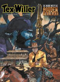 Cover Thumbnail for Tex Willer (HUM!, 2016 series) #8 - De man met de gouden revolvers