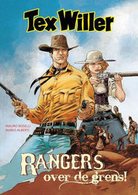 Cover Thumbnail for Tex Willer (HUM!, 2016 series) #[1] - Rangers over de grens!