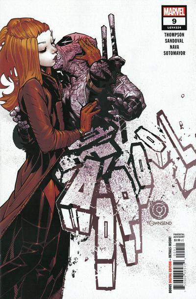 Cover for Deadpool (Marvel, 2020 series) #9 (324)