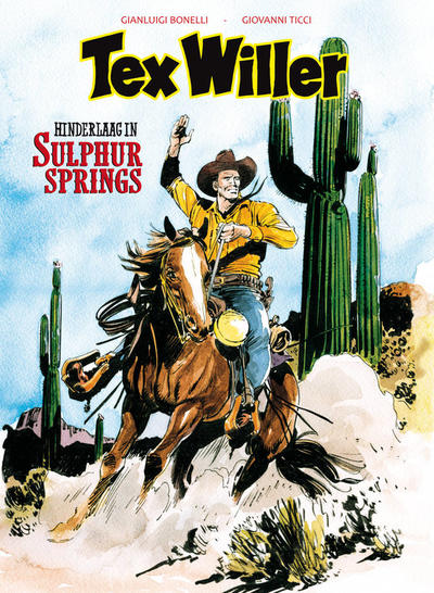 Cover for Tex Willer (HUM!, 2016 series) #9 - Hinderlaag in Sulphur Springs