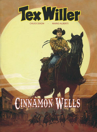 Cover for Tex Willer (HUM!, 2016 series) #7 - Cinnamon Wells
