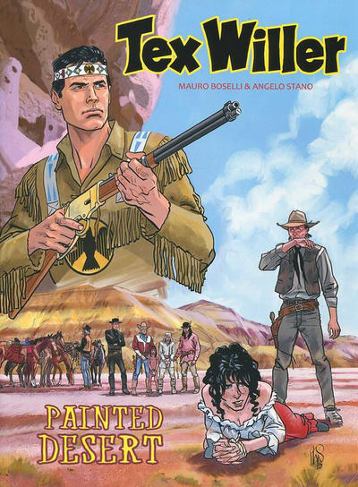 Cover for Tex Willer (HUM!, 2016 series) #4 - Painted Desert