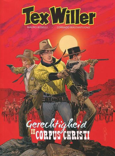 Cover for Tex Willer (HUM!, 2016 series) #6 - Gerechtigheid in Corpus Christi