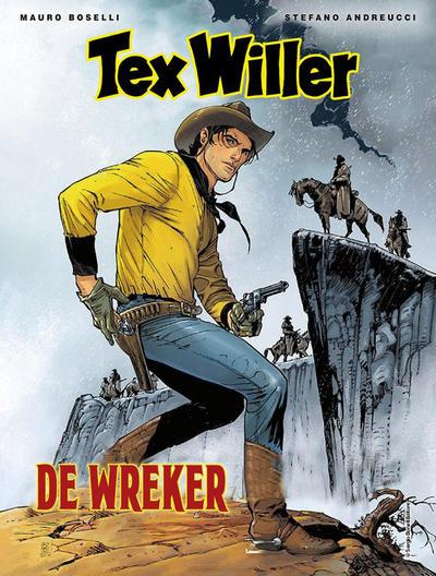 Cover for Tex Willer (HUM!, 2016 series) #5 - De wreker