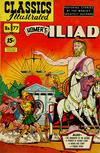 Cover for Classics Illustrated (Gilberton, 1947 series) #77 [HRN 87] - Homer's Iliad