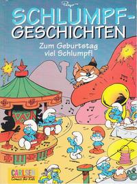 Cover Thumbnail for Schlumpfgeschichten (Carlsen Comics [DE], 1998 series) #4 - Zum Geburtstag viel Schlumpf!