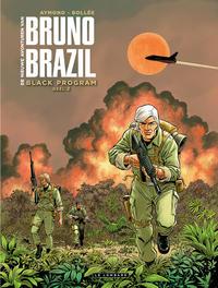 Cover Thumbnail for De nieuwe avonturen van Bruno Brazil (Le Lombard, 2019 series) #2 - Black program, deel 2