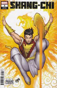 Cover Thumbnail for Shang-Chi (Marvel, 2020 series) #3 [David Nakayama 'Phoenix Variant']