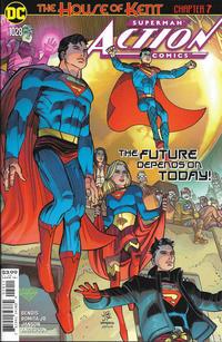 Cover Thumbnail for Action Comics (DC, 2011 series) #1028 [John Romita Jr. & Klaus Janson Cover]