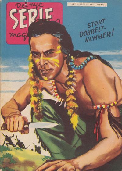 Cover for Seriemagasinet (Serieforlaget / Se-Bladene / Stabenfeldt, 1951 series) #1/1956 [8/1956]