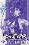 Cover Thumbnail for Razor (1992 series) #5 [Platinum Cover]