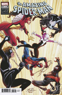 Cover Thumbnail for Amazing Spider-Man (Marvel, 2018 series) #54.LR [Mark Bagley Cover]
