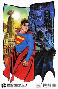 Cover Thumbnail for Batman / Superman (DC, 2019 series) #15 [Travis Charest Variant Cover]