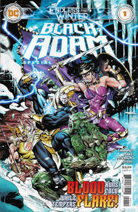 Cover Thumbnail for Black Adam: Endless Winter Special (DC, 2021 series) #1 [Dale Eaglesham Cover]