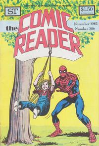 Cover Thumbnail for Comic Reader (Street Enterprises, 1973 series) #206