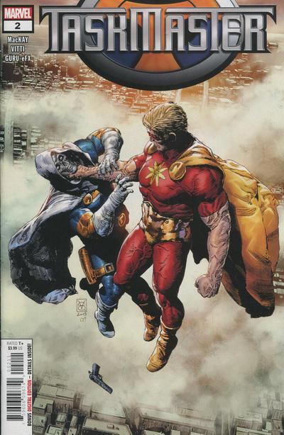 Cover for Taskmaster (Marvel, 2021 series) #2