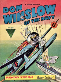 Cover Thumbnail for Don Winslow of the Navy (L. Miller & Son, 1952 series) #122