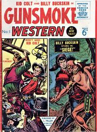Cover Thumbnail for Gunsmoke Western (L. Miller & Son, 1955 series) #1