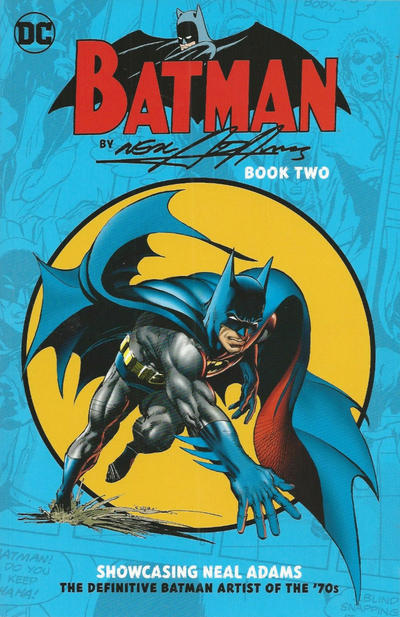 Cover for Batman by Neal Adams (DC, 2018 series) #2