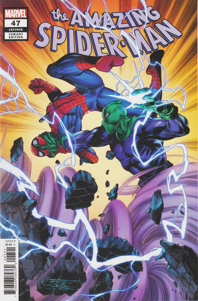 Cover for Amazing Spider-Man (Marvel, 2018 series) #47 (848) [Variant Edition - Mark Bagley Cover]