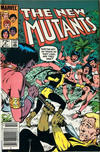 Cover for The New Mutants (Marvel, 1983 series) #8 [Canadian]
