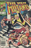Cover for The New Mutants (Marvel, 1983 series) #10 [Canadian]