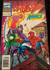 Cover Thumbnail for The Amazing Spider-Man Annual (Marvel, 1964 series) #27 [Australian]