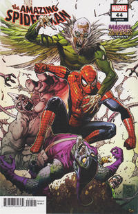 Cover Thumbnail for Amazing Spider-Man (Marvel, 2018 series) #44 (845) [Marvel Zombies Variant - Tony S. Daniel Cover]