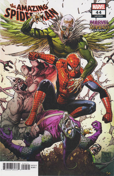 Cover for Amazing Spider-Man (Marvel, 2018 series) #44 (845) [Variant Edition - 'On Sale Wednesday']