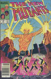 Cover for The New Mutants (Marvel, 1983 series) #12 [Canadian]