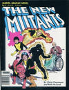 Cover for Marvel Graphic Novel (Marvel, 1982 series) #4 - The New Mutants [Sixth Printing]