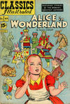 Cover for Classics Illustrated (Gilberton, 1947 series) #49 [HRN 85] - Alice in Wonderland