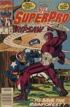 Cover for NFL Superpro (Marvel, 1991 series) #7 [Newsstand]