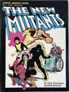 Cover for Marvel Graphic Novel (Marvel, 1982 series) #4 - The New Mutants [Fourth Printing]