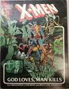 Cover for Marvel Graphic Novel (Marvel, 1982 series) #5 - X-Men: God Loves, Man Kills [Fifth Printing]