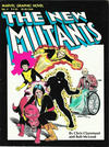 Cover for Marvel Graphic Novel (Marvel, 1982 series) #4 - The New Mutants [Fifth Printing]