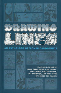 Cover Thumbnail for Drawing Lines: An Anthology of Women Cartoonists (Dark Horse, 2020 series)