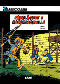 Cover Thumbnail for Blårockarna (Zoom, 2014 series) #[6] - Fånglägret i Robertsonville
