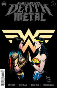 Cover Thumbnail for Dark Nights: Death Metal (DC, 2020 series) #7 [Greg Capullo & Jonathan Glapion Foil Cover]